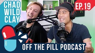 Hackers, Ninjas, & Flat Earth Conspiracy (Ft. Chad Wild Clay) - Off The Pill Podcast #19