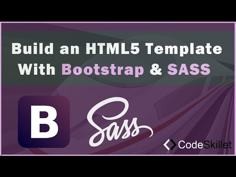 Build An HTML5 Template With Bootstrap and SASS - Part 1