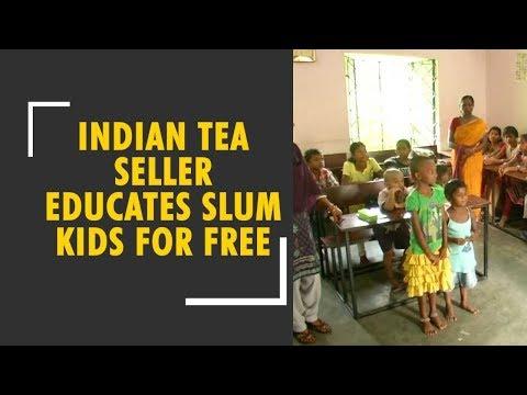 Meet Indian tea seller educates over 70-75 slum kids for free