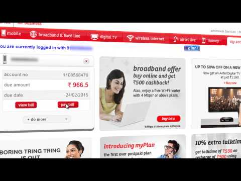 Airtel Phone Bill Payment Online Easy Method