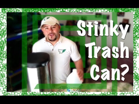 Stinky Trash Can?