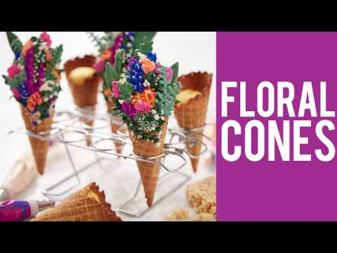 How to Make Flower Cones