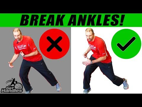 How To Break Ankles USING YOUR FEET! Basketball Drills
