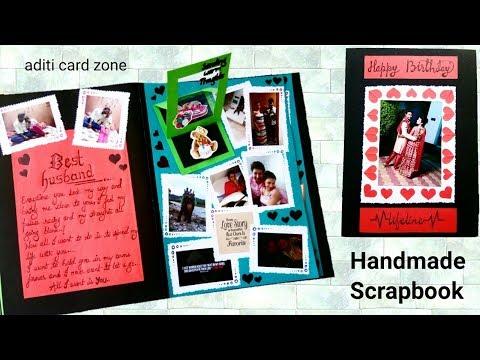 Valentine's Day scrapbook for boyfriend/Husband