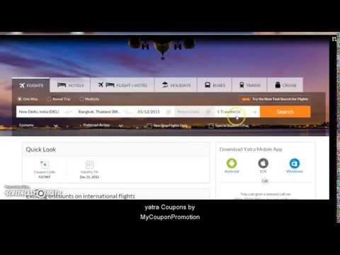 How to Use Yatra Promo Codes for Discount Flights