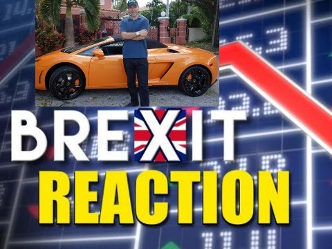 BREXIT FALLOUT:  Stock Market Crashes!!  Wall Street Panics!!  Penny Stock Traders Get Rich!