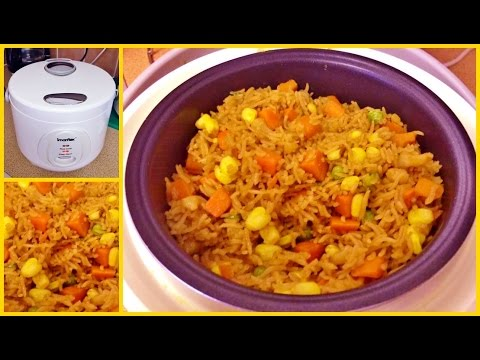 Howto: Make Fried Rice In A Rice Cooker !