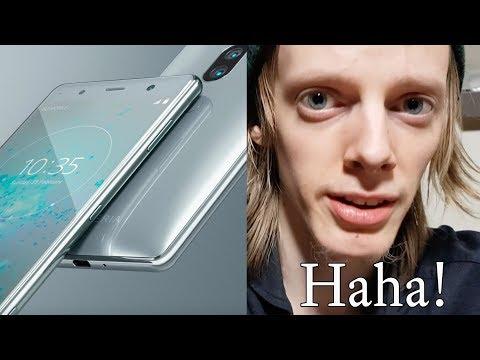 Sony Xperia XZ2 Premium New Smartphone! Looks Like a Panda + iPhone 3GS!