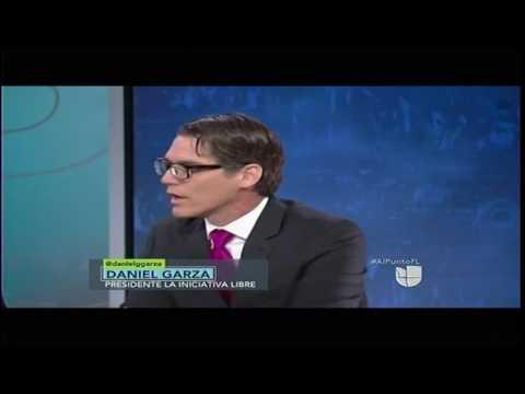 Daniel Garza on Univision's Al Punto FL