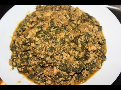 Keema Palak Masala / Minced Meat with Spinach Gravy