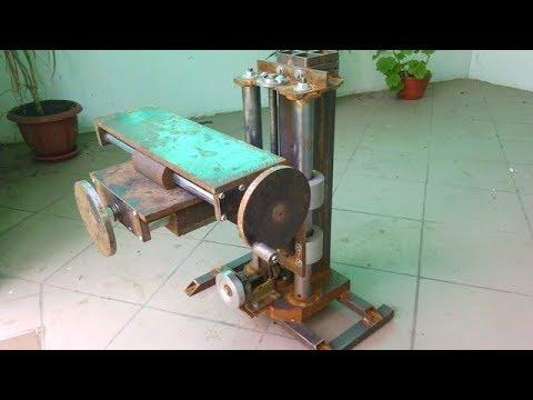 Homemade milling machine part 4