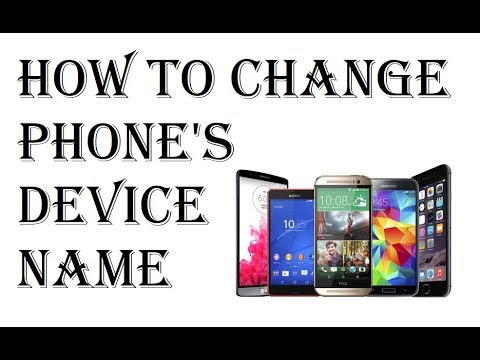 How to Change Phone's Name in Android - Change Smartphone Android Device Name