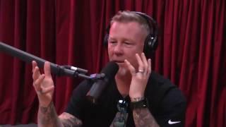 James Hetfield Discusses Getting Sober (from Joe Rogan Experience #887)