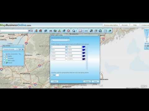 How to do Zip Code Mapping with Demographic Data - Map Business Online