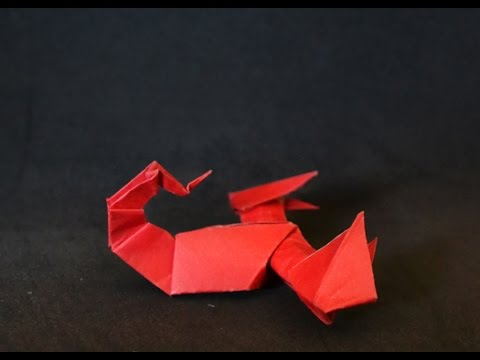 Origami: Escorpion ( Jozsef Zsebe)