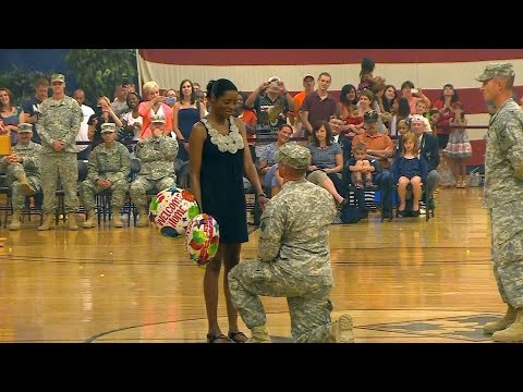 Best Soldiers Surprise Coming Home 2015 Compilations #22