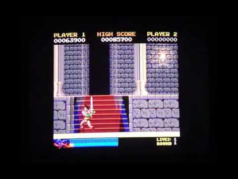 Rastan Game Review (Apple IIGS)