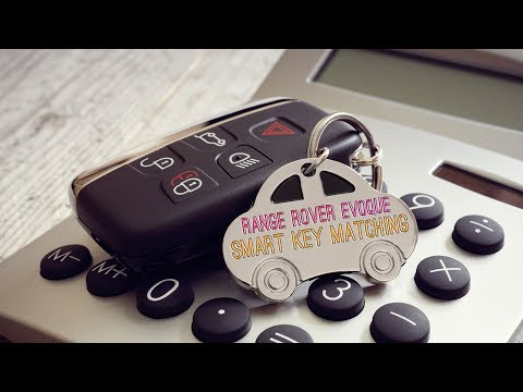 Range Rover Evoque Smart Key Matching | X100 | Lost case and copy