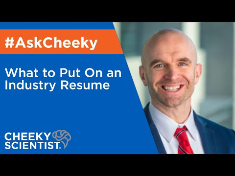 What To Put On An Industry Resume