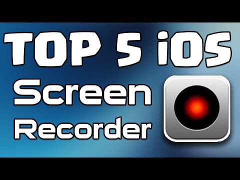 Top 5 Best FREE iOS Screen Recorder for iPhone | iPad