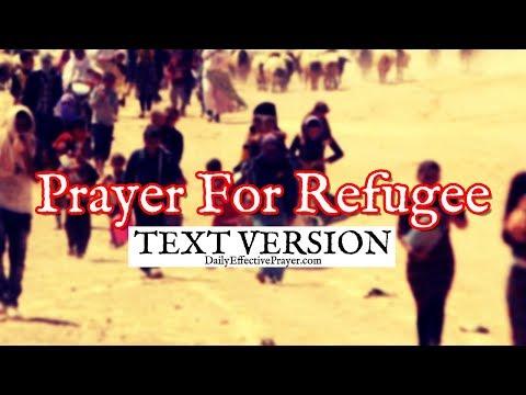 Prayer For a Refugee (Text Version - No Sound)