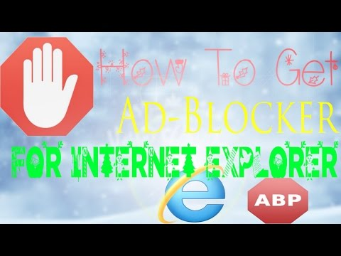 How to Block Ads on Internet Explorer 9/10/11 on Windows XP/Vista/7/8/10