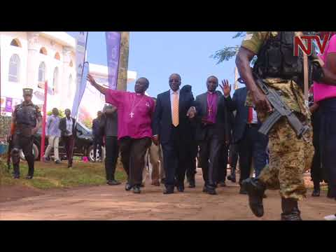 EMULATING THE MARTYRS: Amama Mbabazi asks Christians to adopt the martyrs' values