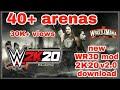 New WR3D mod 2K19 v2.0 download Wrestling Revolution 3D 2k19 Link mod 150 MB