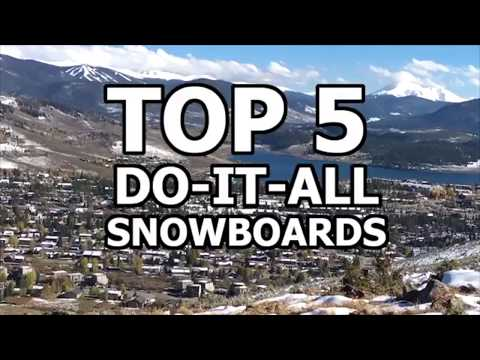 TOP 5 MENS 2018 SNOWBOARDS