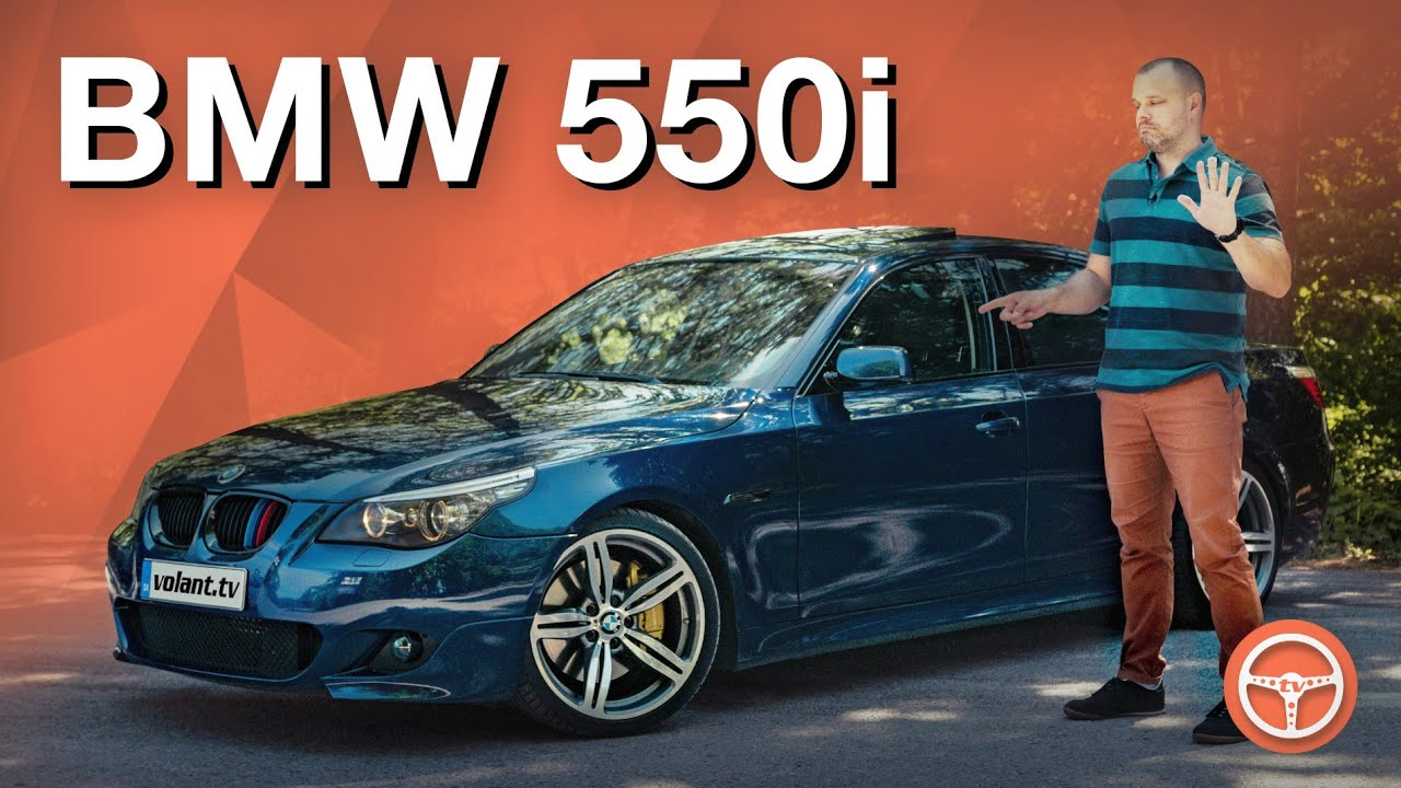 Jakubove BMW 550i E60 - volant.tv