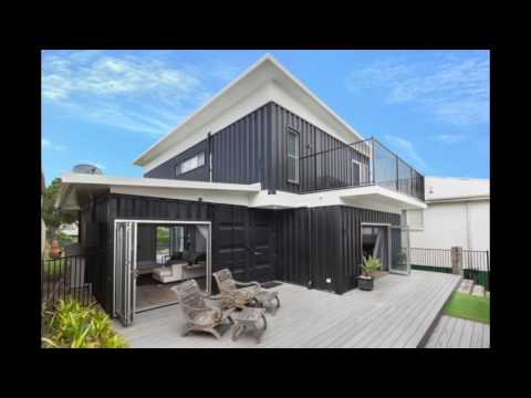 High End Container Home In Sydney