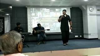 Mudasir Ali sings Kinna Sona at the NEZ International Film Festival (NIFF)