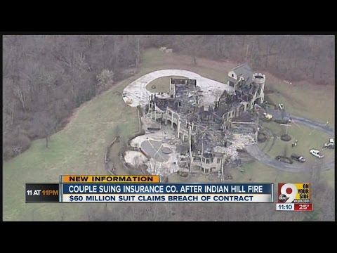 Couple suing insurance company after Indian Hill fire