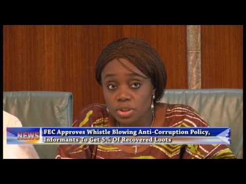 FEC Approves Whistle Blowing Anti-Corruption Policy, Informants To Get 5% Of Recovered Loots