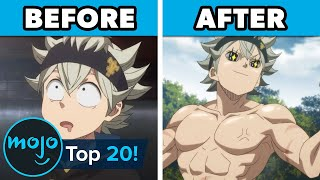 Top 20 Anime Characters Who Got RIPPED