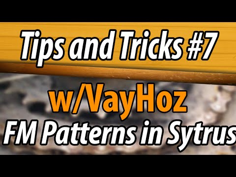Tips and Tricks #7: Making FM Sound Patterns with Sytrus in FL Studio