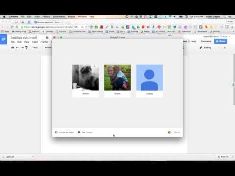 Managing Chrome Profiles