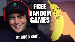WHEN GAMES ARE SO BAD THAT YOU CRY LAUGHING  | Free Random Games