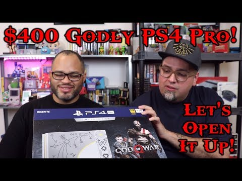 $400 Godly Leviathan Grey Playstation 4 Unboxing God Of War Limited Edition