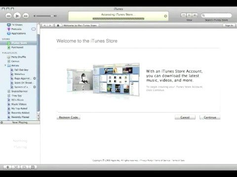 How To Make an ITunes Store Accont without a Credit Card