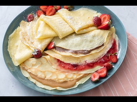 Perfectly Easy Crepes - Breakfast Recipes - Weelicious