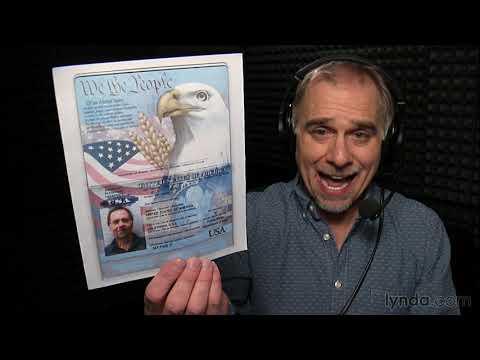 Creating the perfect passport photo | Photoshop | lynda.com