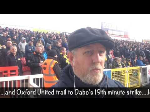 Selfy's twitter montage on Swindon Town v Oxford United