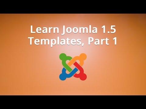 Learn Joomla 1.5 Templates, Part 1