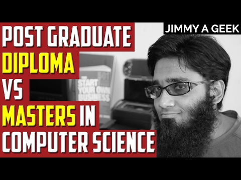 Post Graduate Diploma VS Masters in Computer Science in Canada for Employability & Visa
