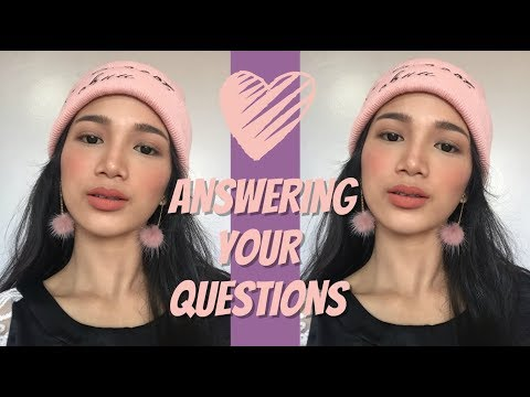 Dealing with Backstabbers, Youtube Advice, Video Editor? Q&A! (Philippines) | Tyra C.
