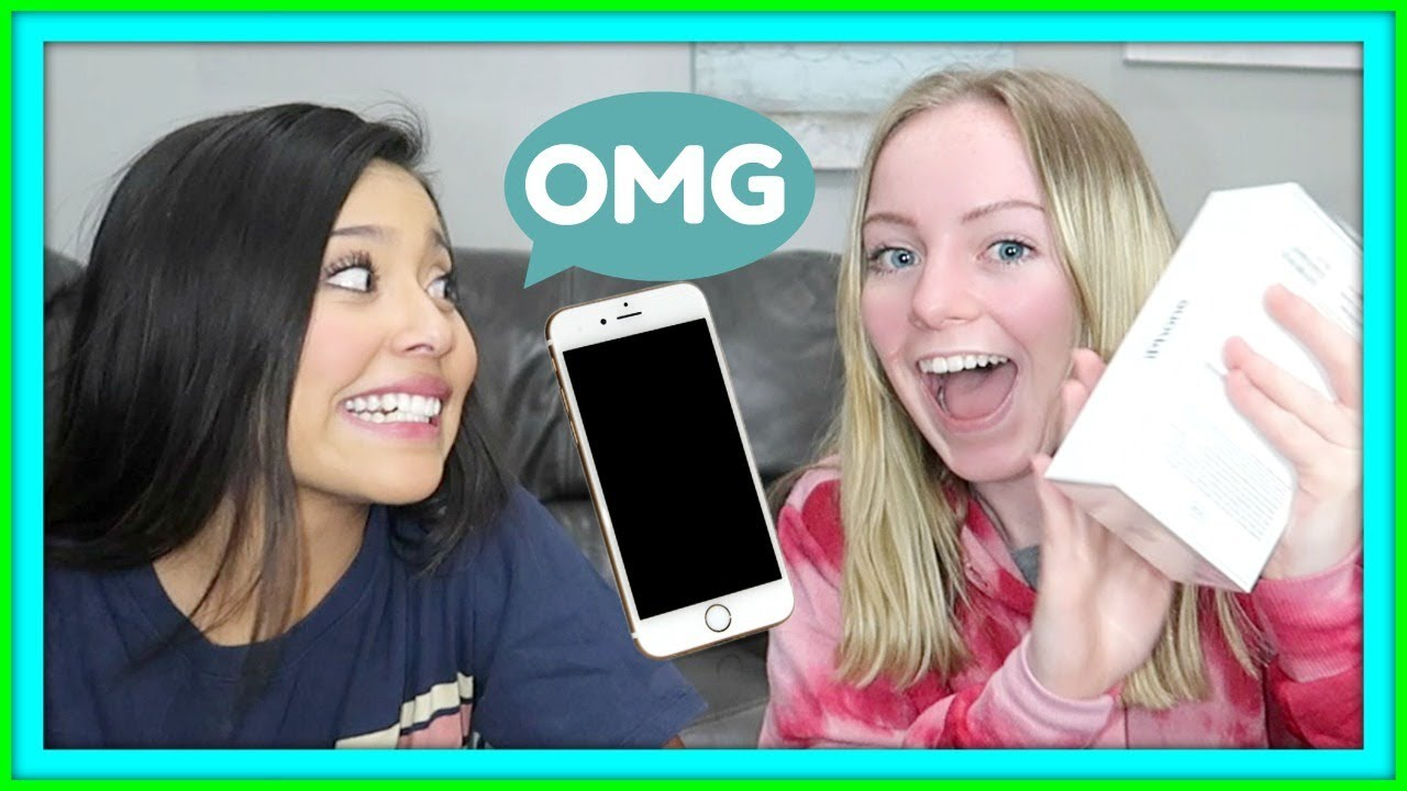 SURPRISING MY KIDS WITH IPHONES | CELL PHONE RULES | GIVEAWAY