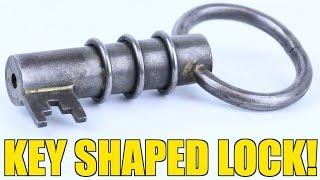 Key Shaped Puzzle Lock   PuzzleMaster