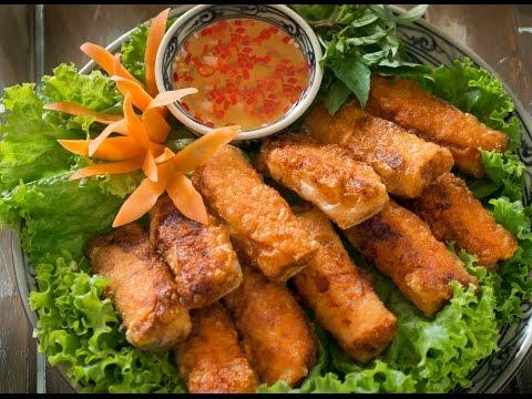 Vietnamese Crispy Spring Rolls - Nem Rán / Chả giò