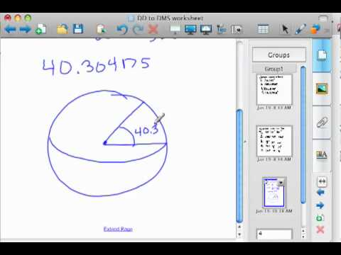 Converting Degrees Minutes and Seconds to Decimal Degrees